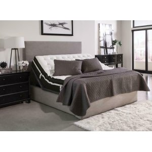 Montclair Casual Black Queen Adjustable Bed Base -
