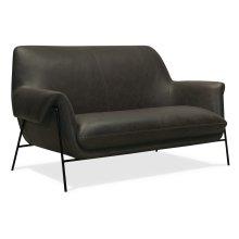Living Room Ambroise Settee w/Metal Frame