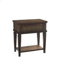 One Drawer Nightstand - Sable Finish