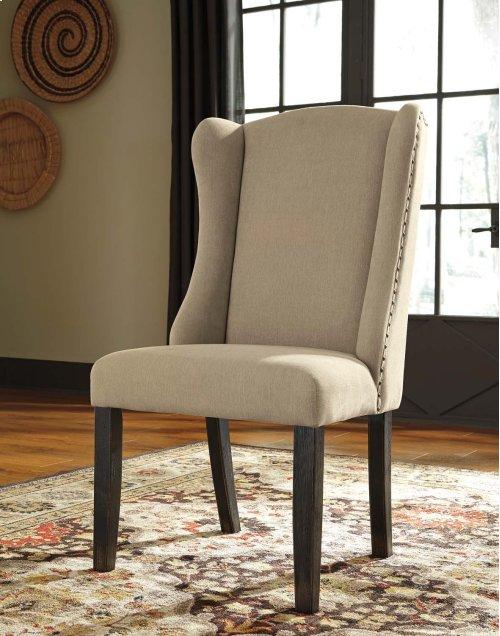 Gerlane - Dark Brown Set Of 2 Dining Room Chairs