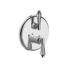 """7097hc-tm - 1/2"""" Thermostatic Trim With Volume Control and 2-way Diverter in Polished Chrome"""