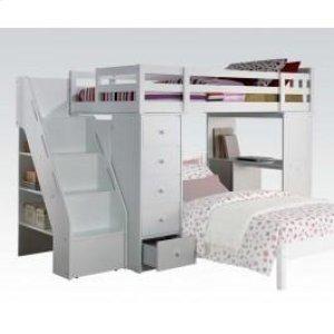 Freya Loft Bed W Bookcase Ladd