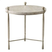 Clarion Round Chairside Table Product Image