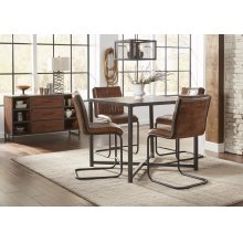 Studio 16 Counter Height Dining Table With 4 Stools