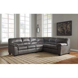 Ashley Furniture Bladen - Slate 3 Piece Sectional
