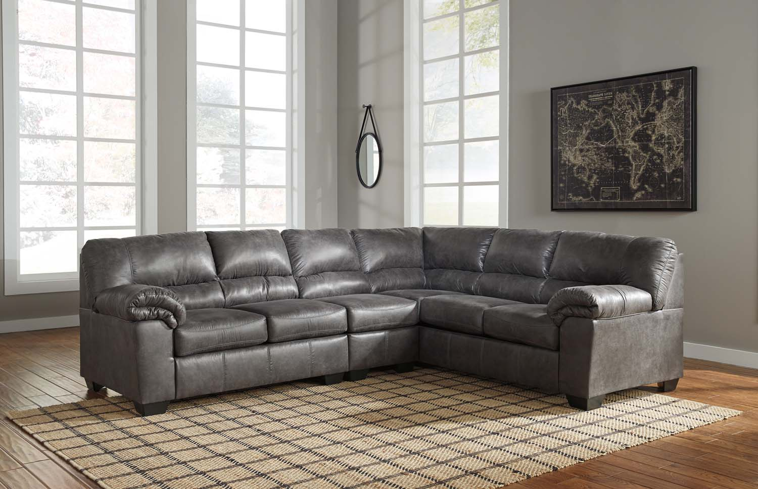 Exceptionnel Bladen   Slate 2 Piece Sectional