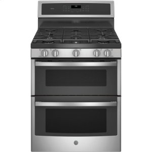 "GE ProfileGE Profile™ 30"" Free-Standing Gas Double Oven Convection Range"