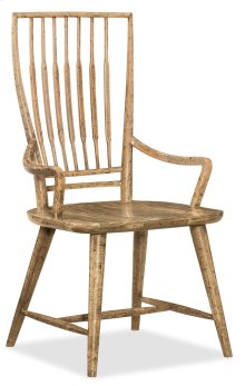 Dining Room Roslyn County Spindle Back Arm Chair