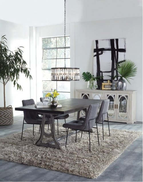 Emile Side Chair Smoky Gray
