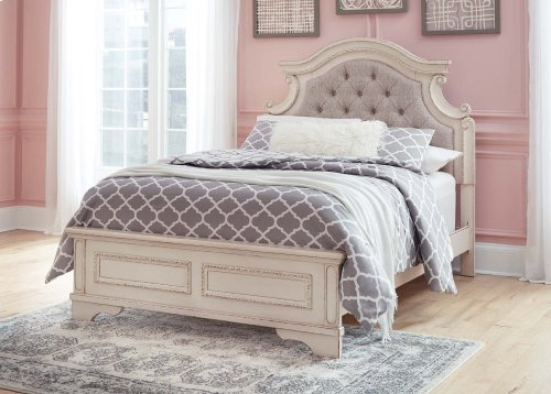 Realyn - Chipped White 3 Piece Bed Set (Full)