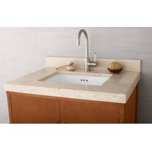 "WideAppeal™ 31"" x 22"" Marble Vanity Top in Cream Beige - 2"" Thick"