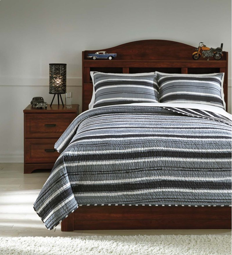 Q420003f In By Ashley Furniture In San Antonio Tx Full Coverlet Set