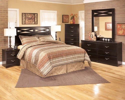4 Piece Bedroom Set Headboard-Dresser-Mirror-Nightstand $599 Matching Chest $199