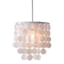 Shell Ceiling Lamp White