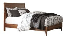 Queen Panel Footboard w/ Rails