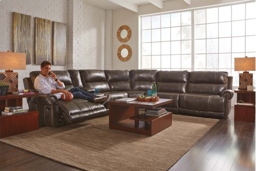 Dak DuraBlend® - Antique 4 Piece Sectional