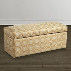 Bassett FurnitureCustom Bench Rectangle Storage Bench