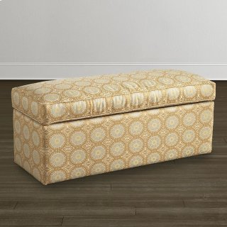 Custom Bench Rectangle Storage Bench