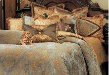 13 PC.King Comforter Set Aqua