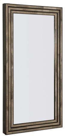 Accents Melange Venice Floor Mirror w/Jewelry Storage