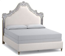 Bedroom Swirl California King Venetian Upholstered Bed