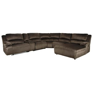 Clonmel - Chocolate 3 Piece Sectional