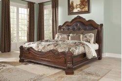 Ledelle - Brown 3 Piece Bed Set (King)