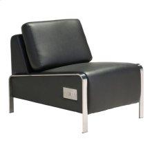 Thor Armless Chair Black