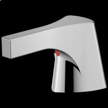 Chrome Metal Lever Handle Set - Bathroom or Bidet