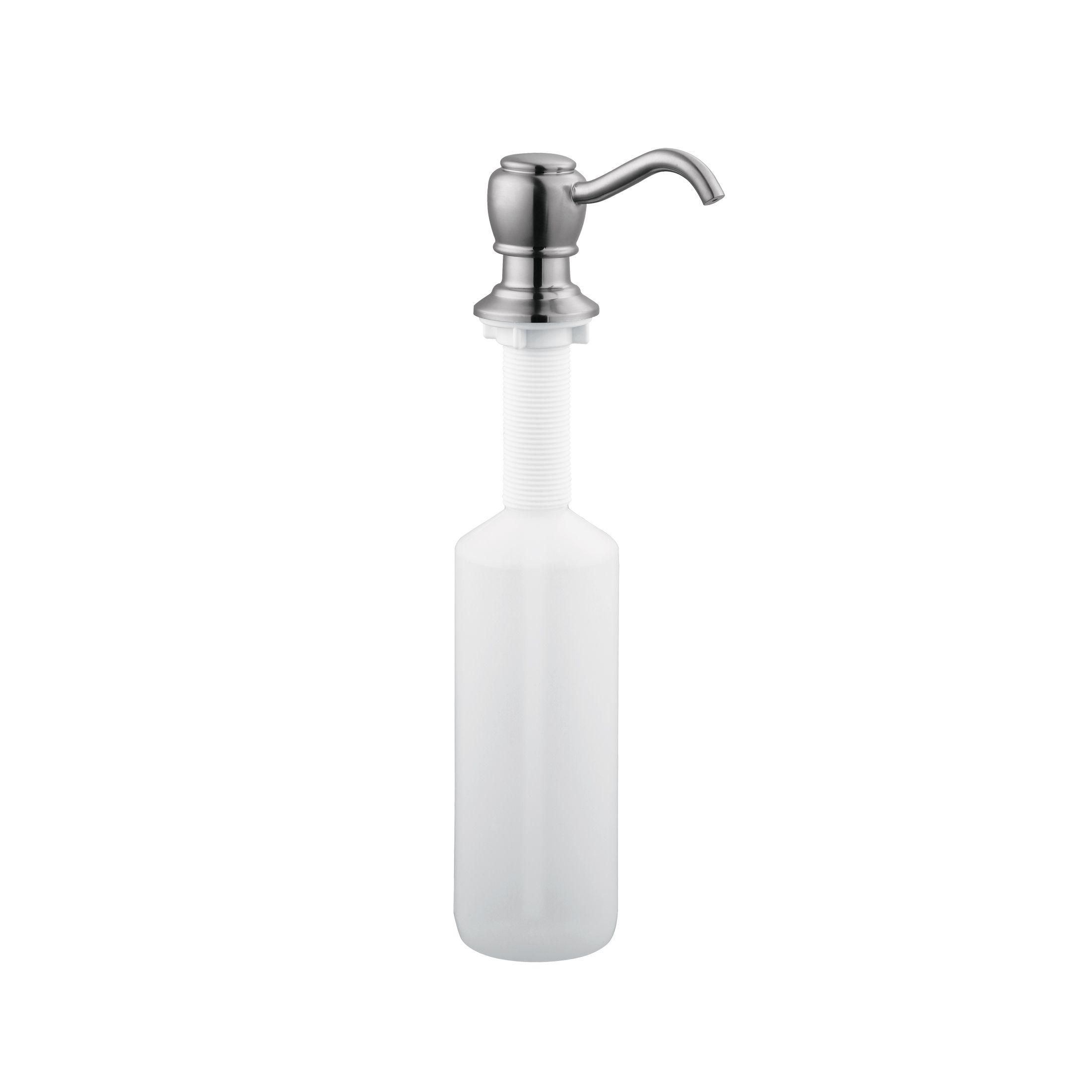Soap Dispenser, Satin Nickel #522250