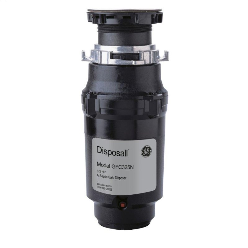 1/3 HP Continuous Feed Garbage Disposer - Corded