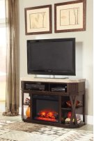 Medium TV Stand/Fireplace OPT Product Image