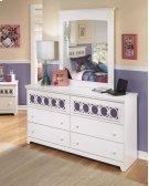 Zayley - White 2 Piece Bedroom Set Product Image