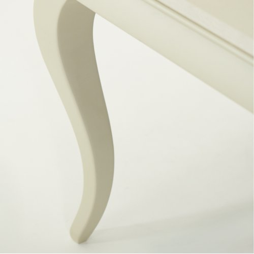 Pearl Croc 4 Leg Rectangular Dining Table
