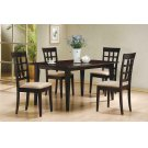 Gabriel Cappuccino Dining Table Product Image