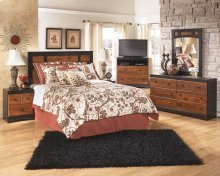 Aimwell - Dark Brown Bedroom Set
