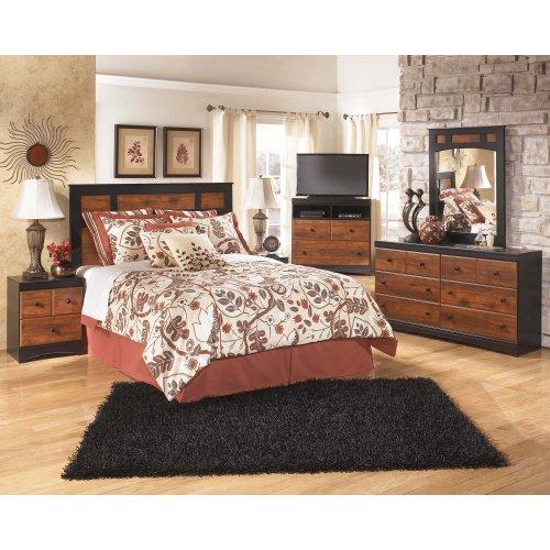 B136B1 in by Ashley Furniture in Longview, TX - Aimwell - Dark Brown ...