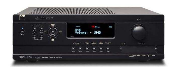 Save 73% on This New NAD T 163 AV Surround Sound Preamplifier-HD