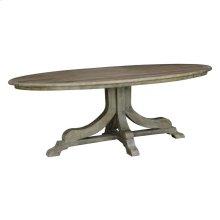 Aimee Oval Dining Table