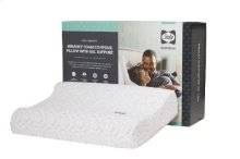 Performance - Memory Foam Contour Pillow With Gel Support - Pack of 4