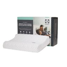 Performance - Memory Foam Contour Pillow With Gel Support - Single Pillow