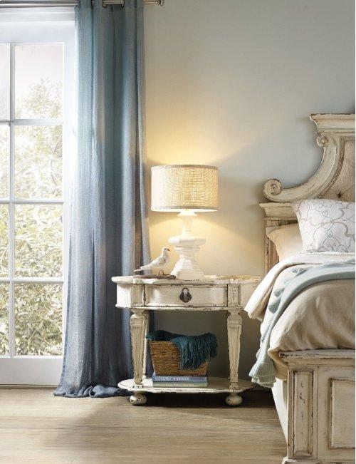 Bedroom Sanctuary Oval Nightstand