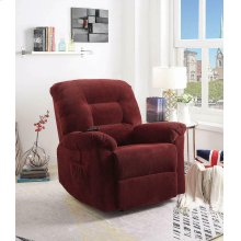 Brick Red Power Lift Recliner