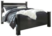 Starberry - Black 3 Piece Bed Set (King) Product Image