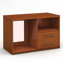 Microfridge 2 Drawer Chest Combo Left