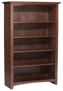 """CAF 60""""H x 36""""W McKenzie Alder Bookcase"""