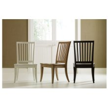 Everyday Dining by Rachael Ray Slat Back Side Chair - Nutmeg