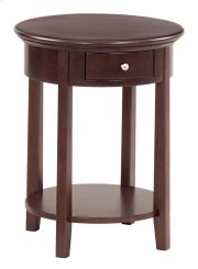 """CAF McKenzie Round Side Table (19-1/2""""D) Product Image"""