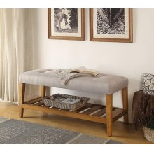 LIGHT GRAY BENCH