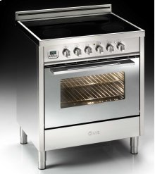 """Stainless Steel with Chrome Trim 30"""" - 4 Zone Induction Range"""